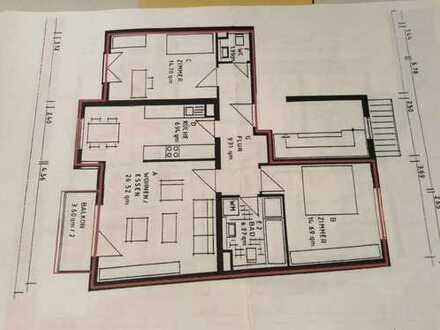 Stilvolle, gepflegte 3-Zimmer-Wohnung mit Balkon und ggf. Einbauküche in Karlsruhe-Knielingen