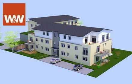 Neubau: Moderne 2-Zimmer-Wohnung (1. OG-WE7) in attraktiver Lage - provisionsfrei