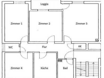 München Andechser Str. 6 - 24qm Zimmer in 4er WG direkt am Harras, neu renoviert