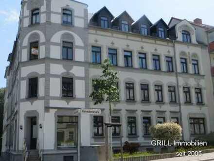 Wohnen unterm Dach !!! 2 RW im DG mit Balkon, Bad mit Wanne in Gablenz