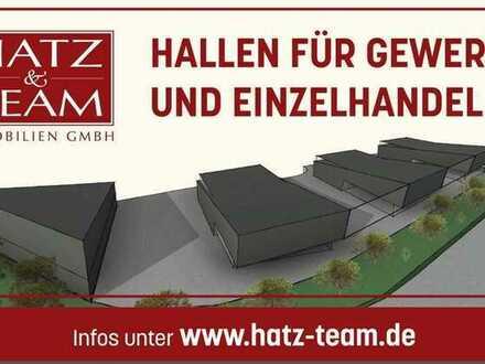 Hatz & Team - Hallen und Einzelhandelsflächen mit flexiblen Möglichkeiten in Pocking