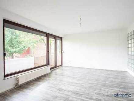 Top zentral! Renovierte 2-Zimmer-Wohnung plus Balkon & Blick ins Grüne! In Köln-Mülheim.