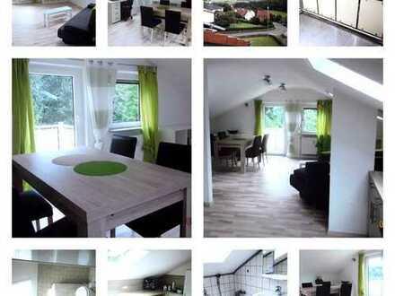 Schöne möblierte Maisonette Wohnung nahe Kulmbach