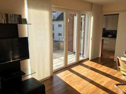 Helle Luxus-Wohnung in Bonn-Castell, citynah, ruhig im Park