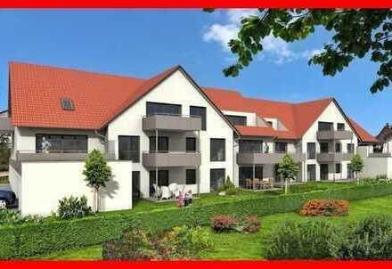 Dachgeschosswohnung mit Südbalkon in Burgau