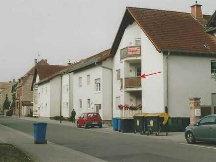 Gepflegte 2-Zimmer-Wohnung mit Balkon in Wöllstein