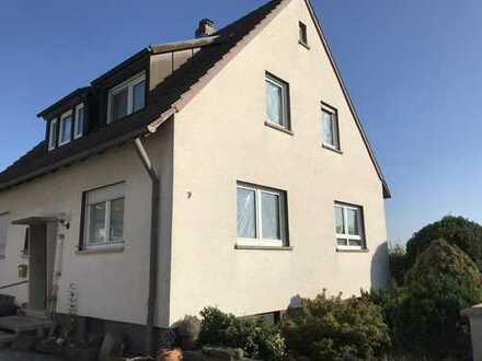Freundliche 3,5-Zimmer-Wohnung in Unterspiesheim mit großem Garten, Erstbezug nach Sanierung
