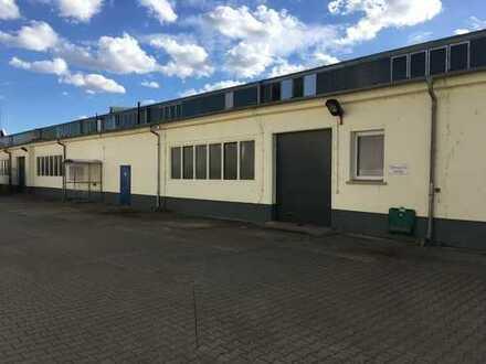 Werkstatt im Gewerbegebiet Sachsenhausener Straße