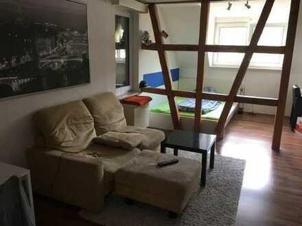 Schicke, möblierte und helle 1,5-Zimmer-Wohnung in Albstadt