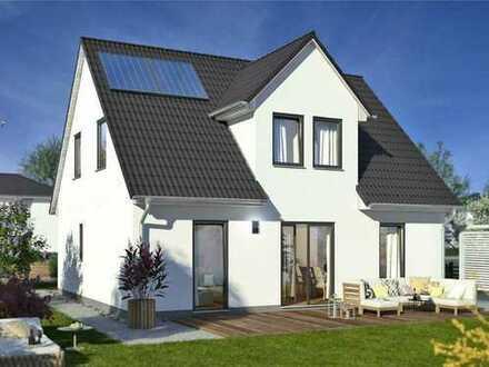 Neues Haus in herrlicher Lage von Spiegelberg inkl. Grundstück mit Ausblick
