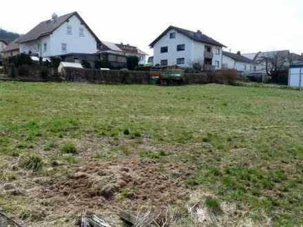 Voll erschlossener Bauplatz in Wohngebiet von Schlüchtern-Wallroth