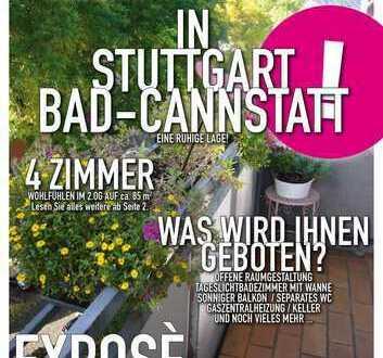 helle 2013 renovierte 4-Zimmer-Wohnung in Bad Cannstatt