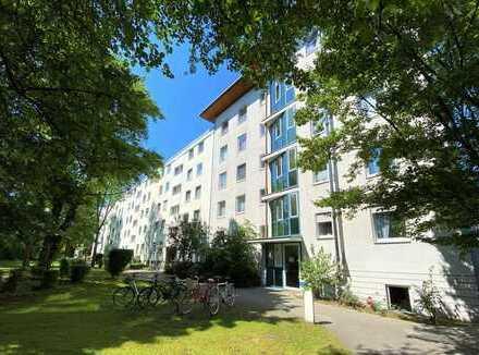 Mit kurzen WEGEN in die Münchner City - 3.5 Zi. Wohnung mit Wintergarten - 80939 MÜNCHEN - FREIMANN