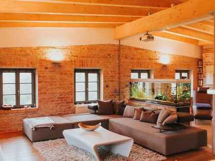 Traum-Loft-Wohnung im Baudenkmal über den Dächern von Bayreuth