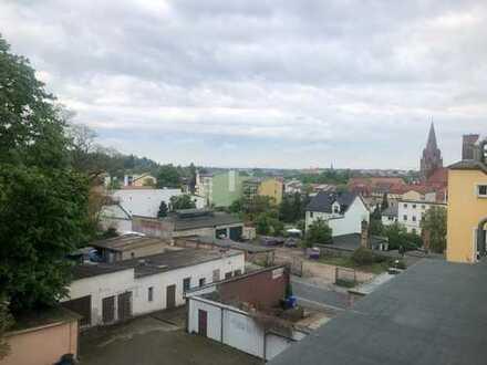 Vermietung: 4 Zimmer, Küche, Bad, mit Blick über Eberswalde in Zentrumnähe