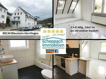 DG-Wohnung zur Selbstnutzung oder Kapitalanlage, Blaustein-Herrlingen (Sackgasse)!