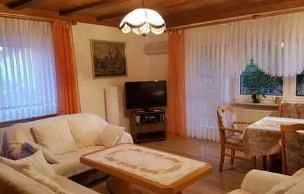 Gepflegte 3-Zimmer-Wohnung mit Balkon und Einbauküche in Lorsch