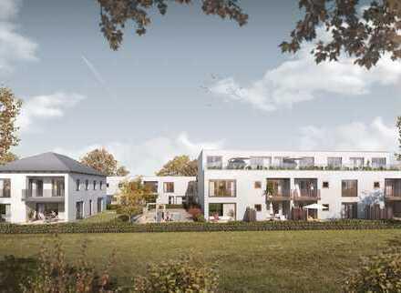 Exklusive 4 ZKB Wohnung mit 2 Terrassen + gr. Garten (Neubau) nähe Nymphenburger Park