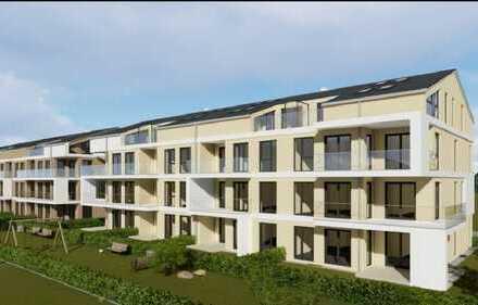 Erstbezug (Ideal für Pendler nach München):3-Zimmer-Wohnung mit Einbauküche und Balkon in Augsburg