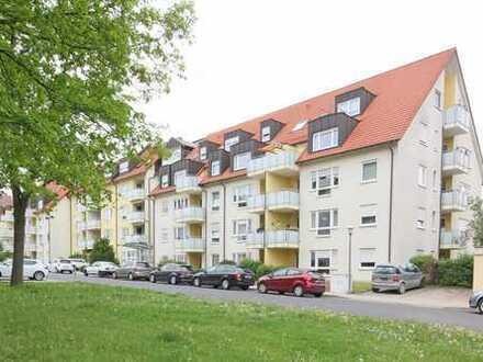 Barrierefreie EG-Eigentumswohnung mit Terrasse im Betreuten Wohnen im Zentrum Bayreuths!
