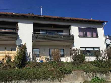 Sonnige 4-Zimmer-Wohnung in ruhiger Südhanglage mit Balkon und Stellplatz in Neckartailfingen