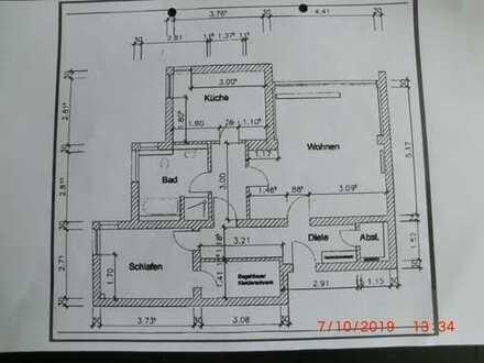 Schöne 2-Zimmer-Erdgeschosswohnung mit EBK in Bochum