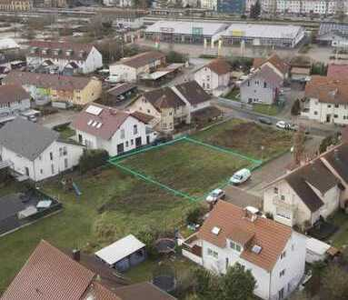 Provisionsfrei: Erschlossener Bauplatz in Graben-Neudorf 542m² im privaten Bieterverfahren