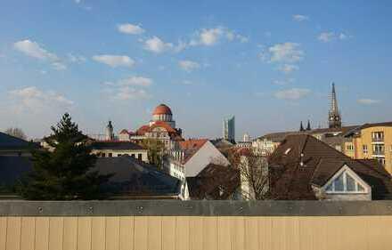 Residieren über den Dächern der Stadt mit Klimaanlage, FuBo, großer Loggia* WE 08