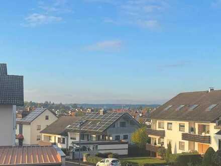 Helle 3-Zimmer-Wohnung mit 2 Balkonen in Schweinheim