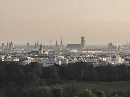 ...und München liegt uns zu Füßen!