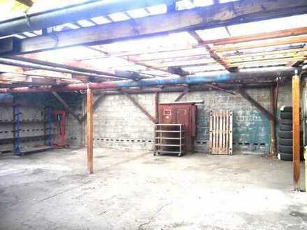 Beheizte Werkstatt-/Gewerbehalle im Zentrum von Brombach