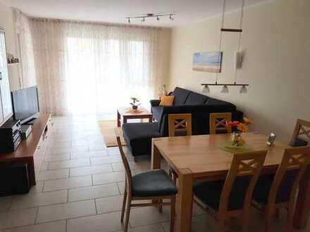 Exklusive, neuwertige 3-Zimmer-EG-Wohnung mit Balkon und Einbauküche in Erlangen