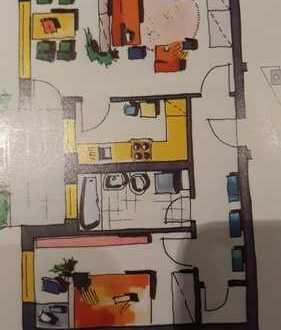 Exklusive, vollständig renovierte 2-Zimmer-Wohnung mit Balkon in Rhein-Erft-Kreis