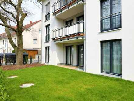 Exklusive 3-Zimmer-Wohnung mit Garten und hochwertiger Einrichtung in TOP Lage von Arheilgen