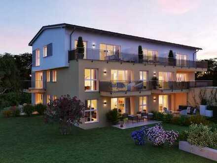 NEUBAU!!! Modern + helle 3 Zimmer mit Dachterrasse + großem Süd-West-Balkon im 1. OG
