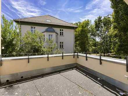 Erstbezug am Waldplatz   Wohnung im Hinterhaus mit Balkon & 2 Tageslichtbädern
