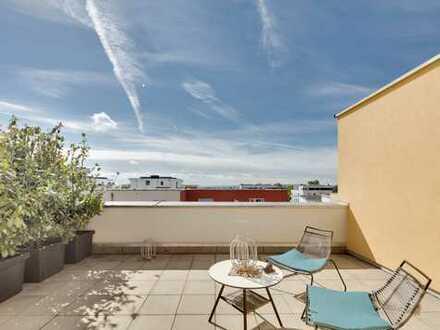 Moderne lichtdurchflutete Doppelhaushälfte mit toller Aussichts-Dachterrasse auf Schwäbische Alb