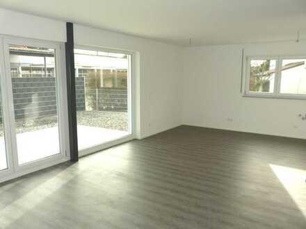 Nicht alltäglich! Sonnige 4 1/2 Zimmer Neubau Wohnung mit großer Terrasse und Gartenanteil