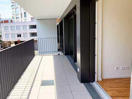 Erstbezug: stilvolle 2-Zimmer-Wohnung mit moderner Einbauküche und großem Balkon in Stuttgart