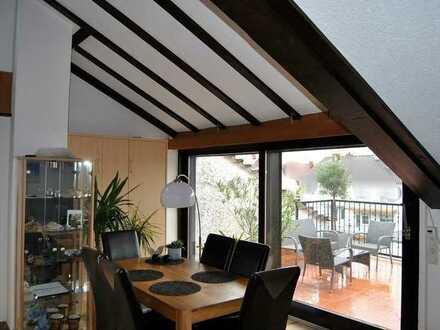 Schöne Maisonette-Wohnung in einem ruhigen Wohnviertel von LU - Oppau