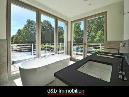 Letzte Einheit: Luxuswohnung in Rheinlage mit Schwimmbad und privater Sauna.