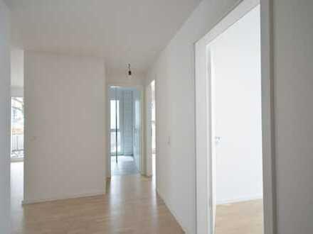 Besondere und moderne 3 Zimmer Neubauwohnung mit Terrasse und Garten in Leonberg-Höfingen!