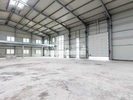 Neue Produktions- und Lagerhalle mit Miet- und Kaufoption