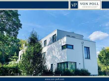 Brasselsberg: Moderne Doppelhaushälfte im Bauhausstil mit schönem Grundstück und 2 PKW-Stellplätzen