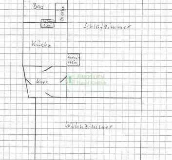 Kleine 2 Raum Wohnung in ruhiger Lage von Bautzen zu vermieten.