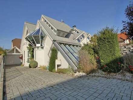 Einzigartiges Architektenhaus in ruhiger Lage