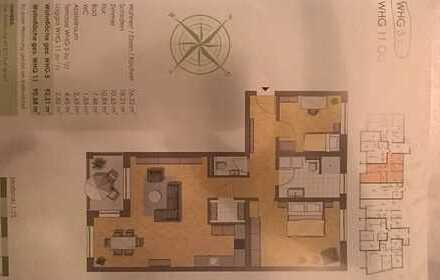 Erstbezug: stilvolle 3,5-Zimmer-EG-Wohnung mit Einbauküche und Terrasse in Illertissen
