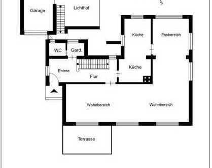 Villa nähe Hagenplatz geeingnet für 4-er WG (4 Schlafzimmer), 4-6 Personen