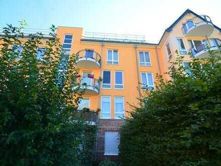 Erbpacht: Charmante DG-Wohnung am Rhein. 4. OG, ohne Aufzug. Virtuelle Begehung im Link enthalten