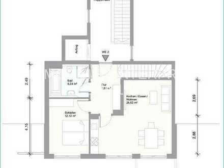 Schneiderhof - Moderne 3-Zimmer EG-Maisonettewohnung in Taufkirchen - Neubau bezugsfertig 1.09.2020